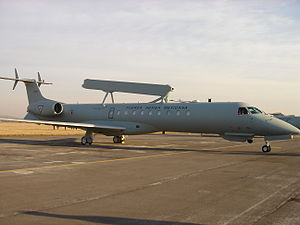 Embraer R-99 - Image: EMB 145 FAM