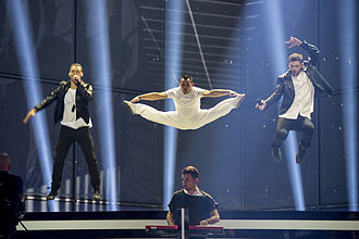 Rise Up (Freaky Fortune song) - Image: ESC2014 Greece 12
