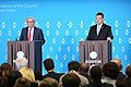 EU2017EE opening press conference with European Commission President Jean-Claude Juncker and Estonian Prime Minister Jüri Ratas Jean-Claude Juncker and Jüri Ratas (35587084966).jpg