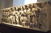 Early Christian sarcophagus from San Justo (M.A.N. 50310) 02.jpg
