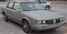 1982 1984 Oldsmobile Cutlass Ciera Sedan
