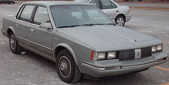Oldsmobile Cutlass Ciera - 1982–1984 Oldsmobile Cutlass Ciera sedan