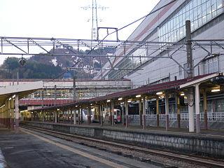 Echigo-Yuzawa Station Railway station in Yuzawa, Niigata Prefecture, Japan