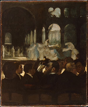 Louis-Marie Pilet - Image: Edgar Degas, The Ballet from Robert le Diable, The Metropolitan Museum of Art