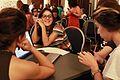 Edito, luego existo. Editatón colectiva de biografías de mujeres uruguayas. Editando.jpg