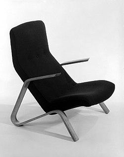 """Eero Saarinen, """"Grasshopper"""" Highback Armchair, Designed ca. 1947.jpg"""