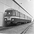 Eerste Metro-treinset voor Rotterdam klaar, exterieur treinstel (bij werkspoor U, Bestanddeelnr 919-1611.jpg