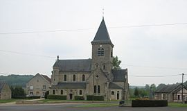 The church of Margival