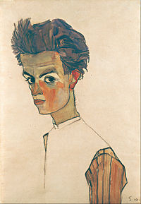 Egon Schiele - Self-Portrait with Striped Shirt - Google Art Project.jpg