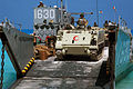Egyptian M113 offloading from US Navy LCU.jpg