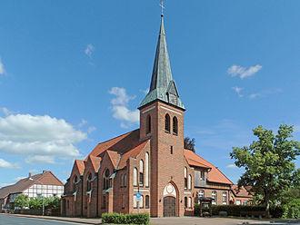 Ehra-Lessien - Image: Ehra Kirche