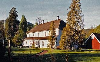 Eidsfos Verk - Eidsfos Manor dates from c. 1740s