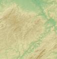 Eifel (Relief) - Deutsche Mittelgebirge, Serie A-de.png