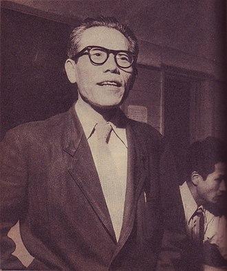 Eijirō Tōno - Tōno in 1954