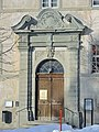 Einsiedeln Kloster, Eingang zum Konvent 2013-01-26 14-27-28 (P7700).JPG