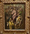 El Greco, Jesus Christ Stripped of His Garments, National Gallery, Oslo (35658197013).jpg