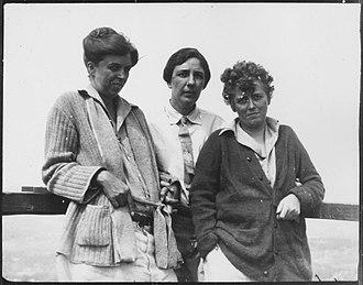 Nancy Cook - Eleanor Roosevelt, Marion Dickerman, and Nancy Cook on Campobello Island, New Brunswick, Canada in June 1926