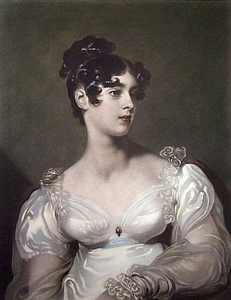 Richard Grosvenor, 2nd Marquess of Westminster - Elizabeth, Marchioness of Westminster, by Sir Thomas Lawrence.
