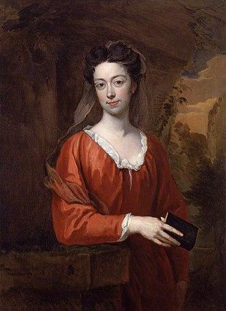 Elizabeth Burnet - 1707 portrait by Sir Godfrey Kneller.