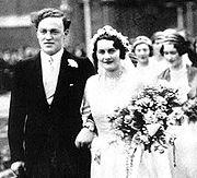 Elizabeth Longford wedding