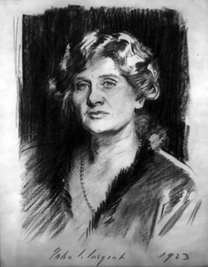 Elizabeth Sprague Coolidge - Elizabeth Sprague Coolidge by John Singer Sargent. 1923