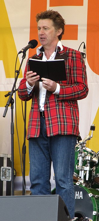 Elvis McGonagall - Elvis McGonagall reading poetry at the Tolpuddle Martyrs' Festival and Rally 2012