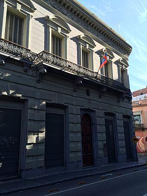 Uruguay–Venezuela relations - Embassy of Venezuela in Montevideo