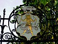 Emblem above the south gate of the Chelsea Physic Garden - geograph.org.uk - 1598420.jpg