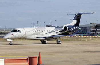 Embraer Legacy 600 at Birmingham International...