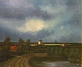 Emile Spilliaert - Landschap met molens.JPG