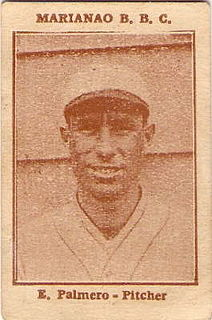 Emilio Palmero Cuban baseball player