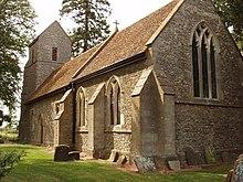 St. Nicholas church, Emmington