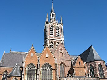Enghien (Belgium), the St. Nicolas of Smyrne c...