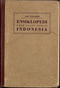 Ensiklopedi umum dalam bahasa Indonesia cover