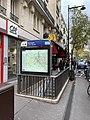 Entrée Station Métro Boulogne Jean Jaurès Boulogne Billancourt 1.jpg