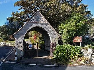 Church of St John the Baptist, Niton - Entrance to the church