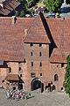 Entrance to Middle Castle of Malbork Castle.jpg