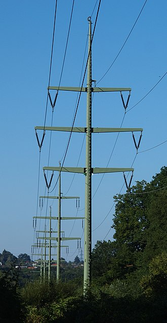 Suspension tower - suspension towers