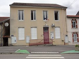 The town hall in Erbéviller-sur-Amezule