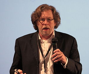 English: Eric Reiss during Polish IA Summit, 1...