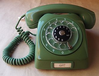 Rotary dial - The LM Ericsson Dialog from the 1960s that remained popular in Sweden up until the 1980s