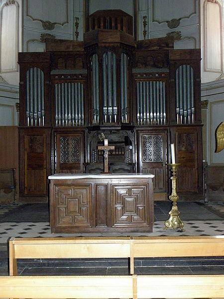 Église Notre-Dame-de-l'Assomption d'Ernée (53). Orgue.