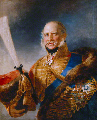 Ernest Augustus, King of Hanover - Portrait by George Dawe, 1828