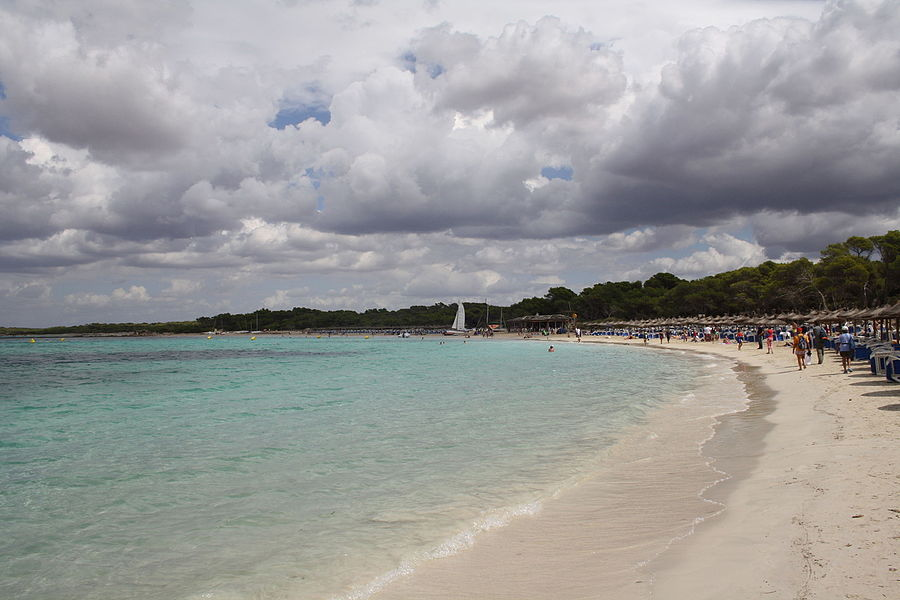 Es Trenc, Mallorca, the beach