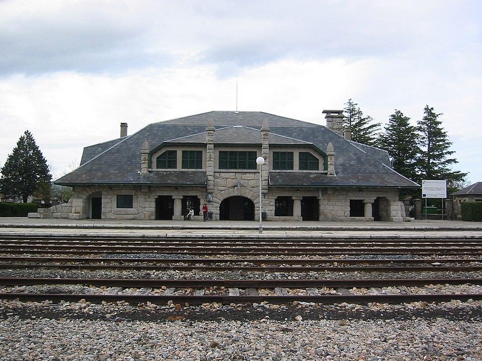 Estación de tren de Puebla de Sanabria