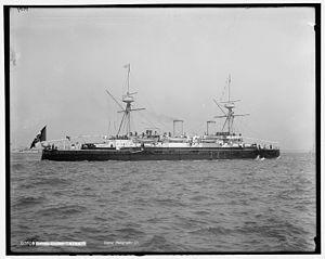 Italian cruiser Vesuvio - Image: Etna Italian cruiser 1890s