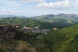 Pilok subdistrict in Thong Pha Phum district, Kanchanaburi province, Thailand