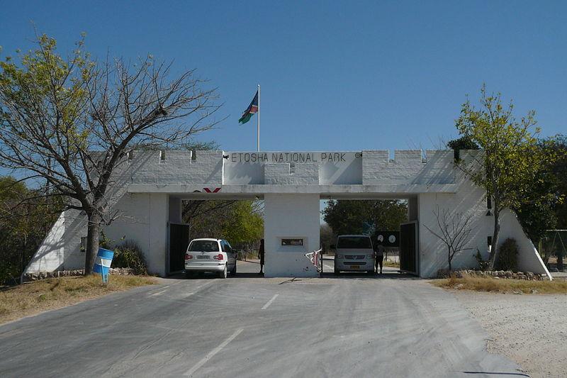 File:Etosha National Park entrance.JPG
