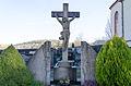 Eußenheim, Am Kirchberg 10, Friedhofkreuz, 001.jpg