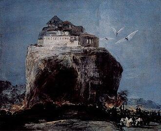 Art forgery - Image: Eugenio Lucas Velázquez A City on a Rock